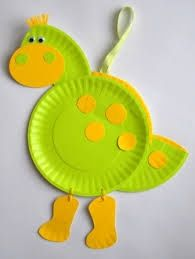 paper plate dinosaur craft idea (6)