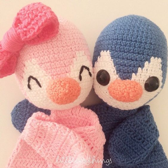 littlecosythings crochet penguins Instagram Crochet ...