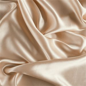 *3 YD PC--Champagne Silk Charmeuse - 1000M108-C1 - Fabric By The Yard At Discount Prices  lovely