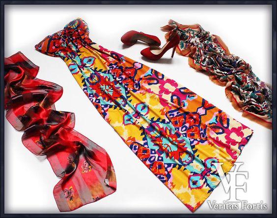 SELECT Śliczna Kolorowa Indyjska Sukienka 42/XL/44