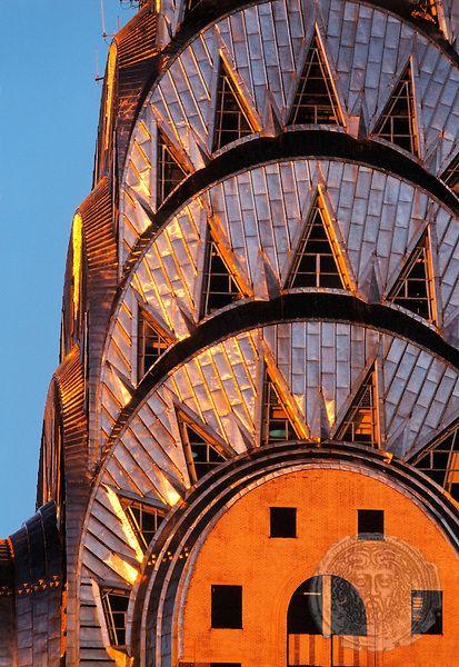 Chrysler Building Facade, Manhattan, New York | HOBERMAN