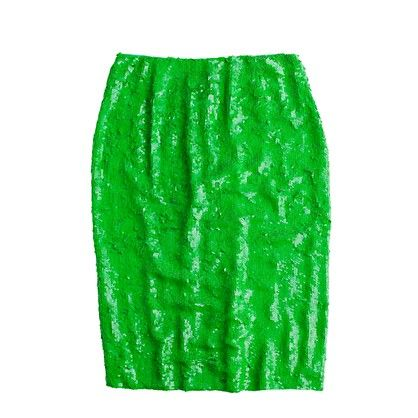 Sequin Pencil Skirt - JCrew is killing me softly with their spring skirt selection. I want just about all of them.