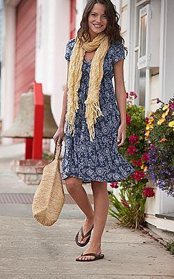 Women&39s Casual Summer Dress by Eddie Bauer  Wear It  Pinterest ...