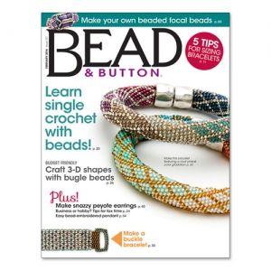 Magazine Bead & Button de Fevrier 2015. A 7,50€ ici >>> http://www.perlesandco.com/Magazine_Bead_Button___Fevrier_2015___en_Anglais-p-79748.html