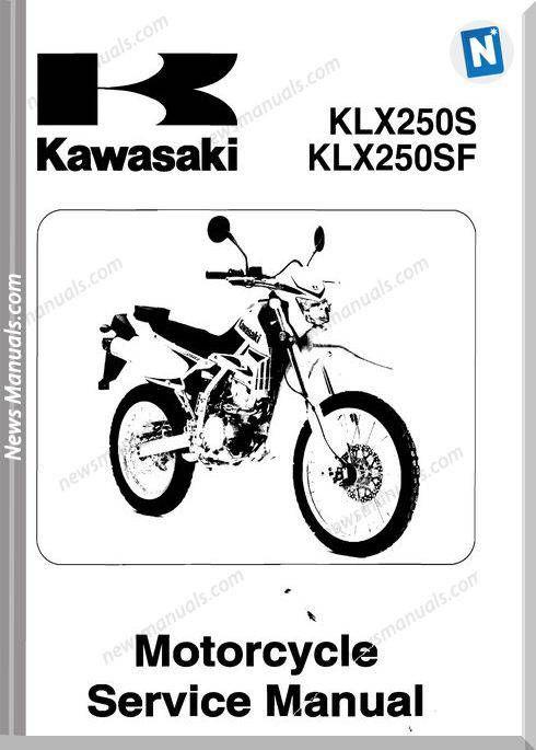 Kawasaki Klx250 Injection Service Manual 2008 2009 Kawasaki Manual Injections