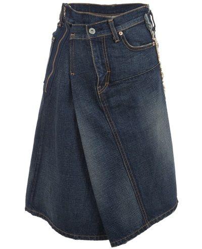 JUNYA WATANABE - Asymetric skirt 6