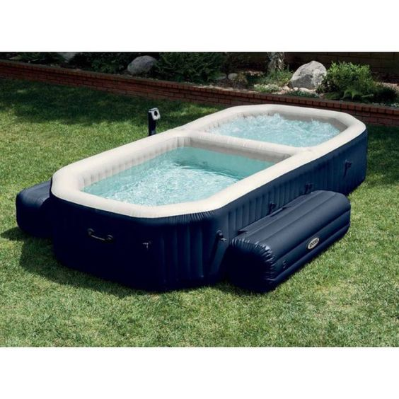 Spa Gonflable Intex Pure Spa Plus avec Piscine a Bulles