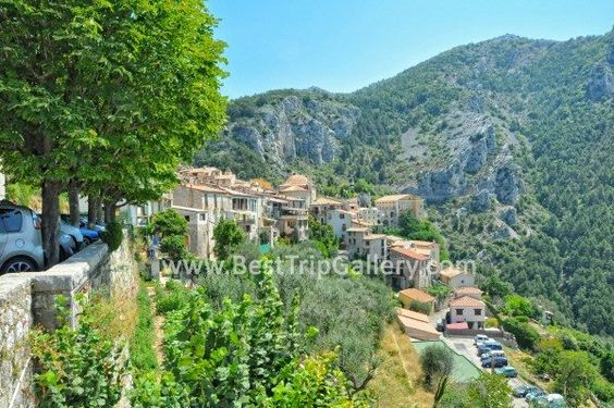 Peille village, France #Peille #France #travel #vacations #holidays #Alps #places #tourist #Attractions #hiking #village #interesting #mountains
