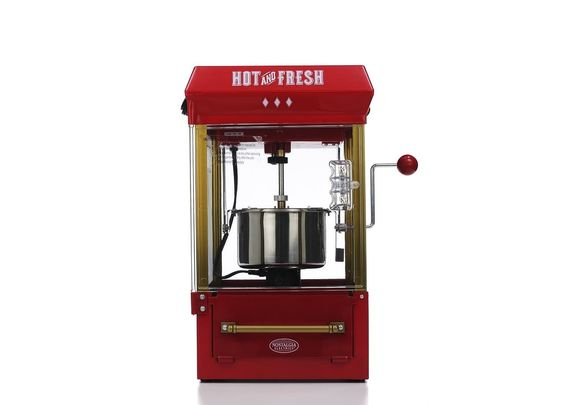 and fresh popcorn machine