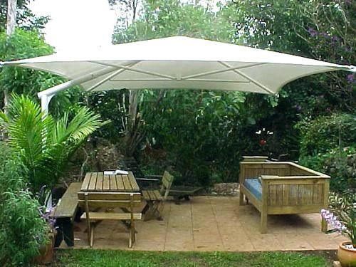 Ideas Diy Outdoor Umbrella