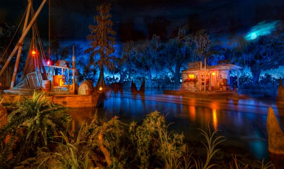 Blue Bayou Restaurant inside Pirates of Caribbean at Disneyland~ this will be a fun dinner! One of our favorite rides :)