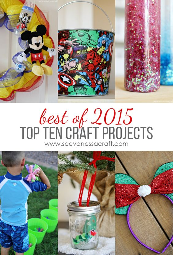 Top 10 DIY Craft Projects of 2015