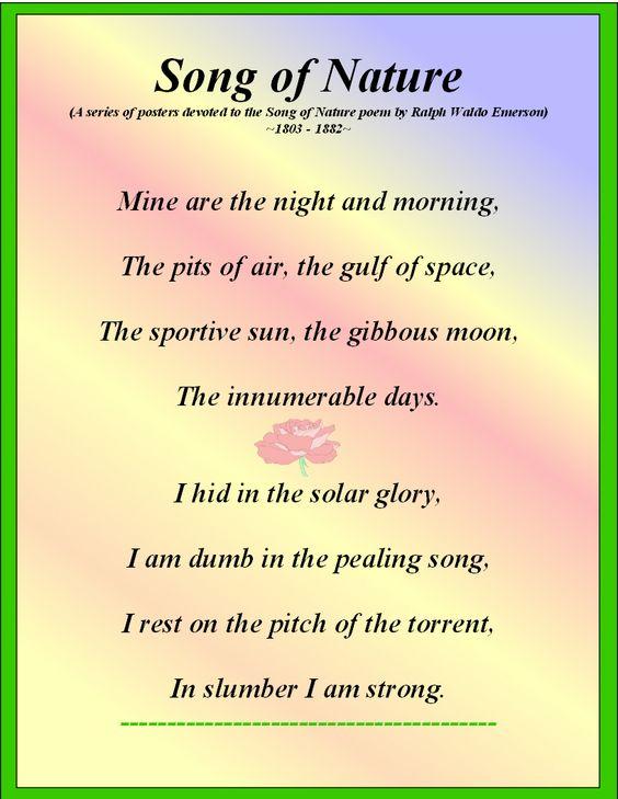 emerson essays the poet