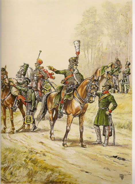 Baden; Hussars on campaign
