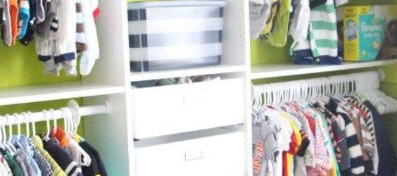 Como Organizar un Closet para Niño