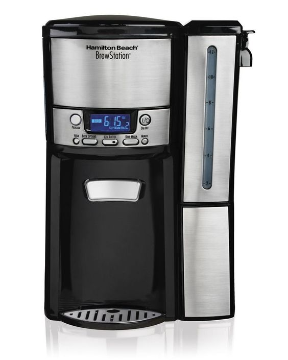 Hamilton Beach 12-Cup BrewStation Dispensing Drip Coffeemaker kitchen