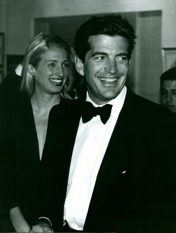 Carolyn and John Kennedy