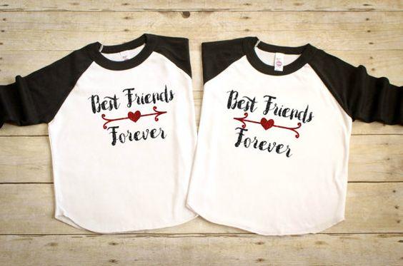 Beste Freunde für immer-Hemden bester Freund von HeatherLCreations