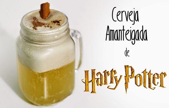 Compra-se Um Fusca: Como Fazer Cerveja Amanteigada de Harry Potter