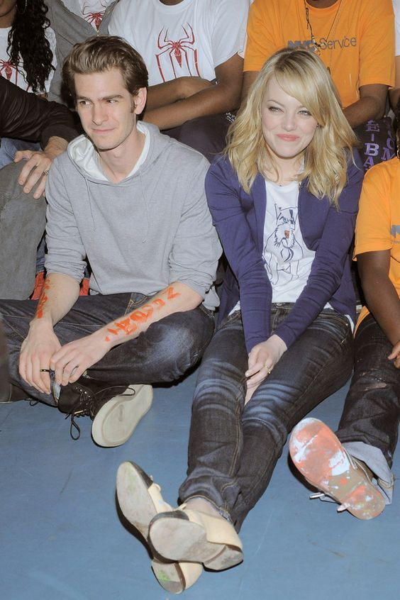 And 2012 was THEIR YEAR to shine. | Emma Stone And Andrew Garfield Won 2012