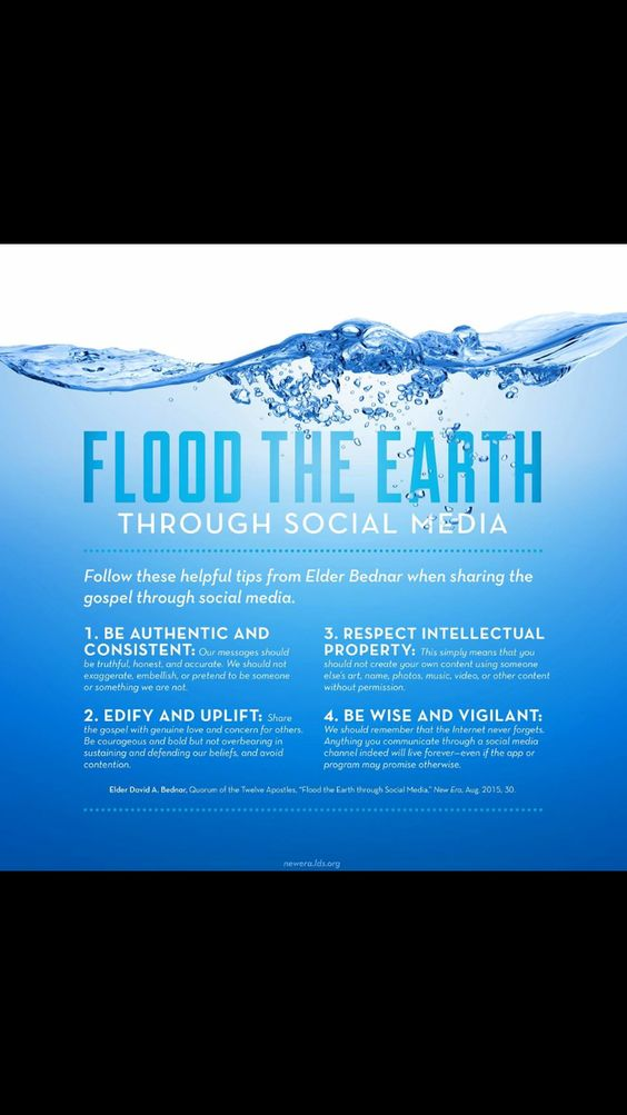 Flood the earth