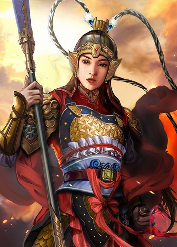 "Princess Pingyang, formally Princess Zhao of Pingyang was the daughter of Li Yuan (later enthroned as Emperor Gaozu), the founding emperor of the Tang dynasty. Commander of ""Army of the Lady"" . 平陽昭公主/ 平阳公主(6世纪-623年3月14日)"