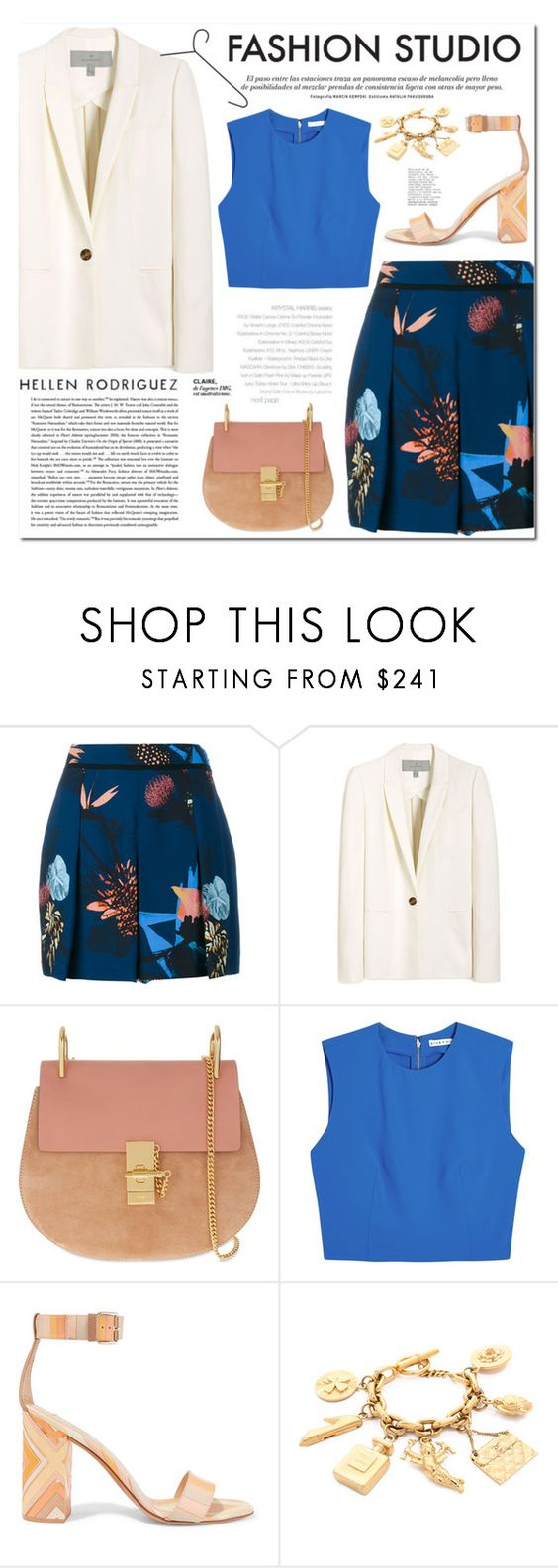 """""""Page 115/16"""" by lali22 ❤ liked on Polyvore featuring Proenza Schouler, Mulberry, Chloé, Alice + Olivia, Alexander McQueen and Valentino"""