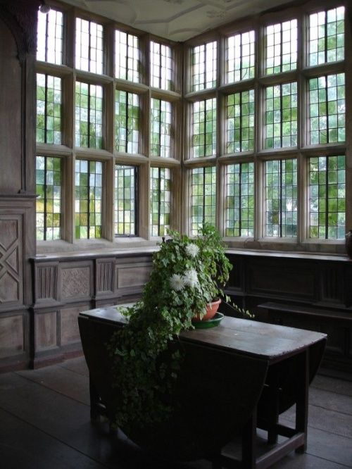 """In the Long Gallery, Haddon Hall, Derbyshire"" by Grant Shaw at PicturesofEngland.com:"