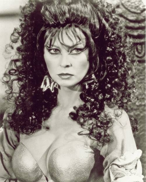 Cassandra Peterson Aka Elvira As Queen Sorais In The Film