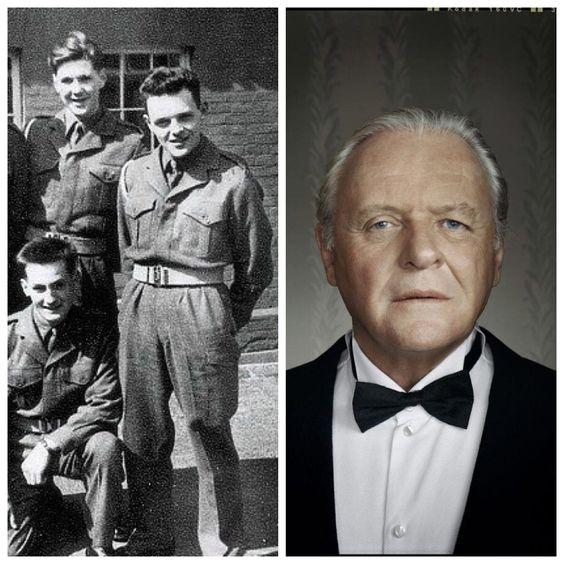 Anthony Hopkins-British Army-late 1950's