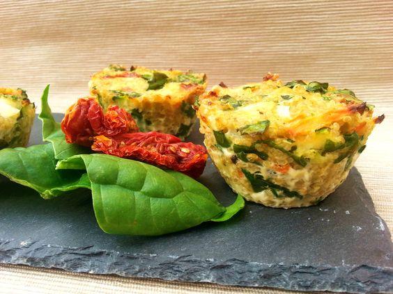 Bocaditos de quinoa con vegetales
