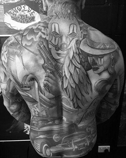 Pin On Full Body Full Back Tattoos