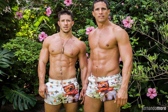 ARGENTINEMEN: NEW SWIMSUITS AND BEACH BLANKETS FROM FERNANDOMORE.COM WITH JUAN DILLON & EZEQUIEL HAYES