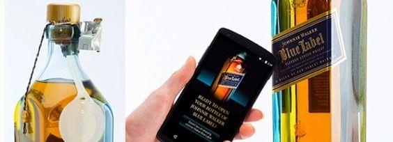 Imaginary World: Johnnie Walker Blue Label desarrolla su propia botella inteligente
