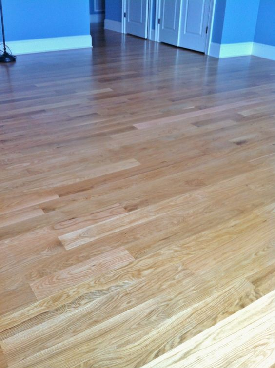 White Oak With 3 Coats Of Bona Kemi Water based Finish