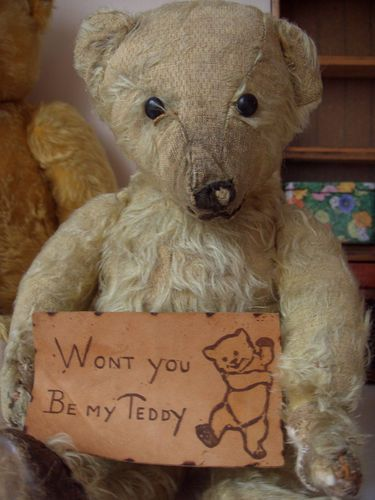 Old Bear....only if you tell me your life stories...  ♥