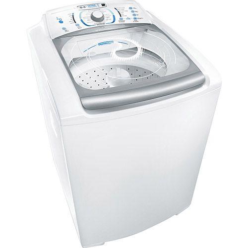 Lavadora de Roupas Electrolux 15kg Blue Touch Ultra Clean LBU15 Branco