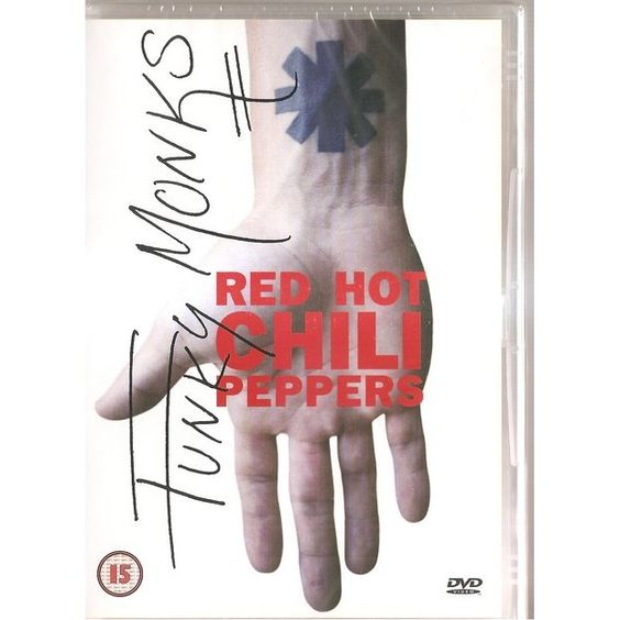 Red Hot Chili Peppers – Funky Monks (single cover art)