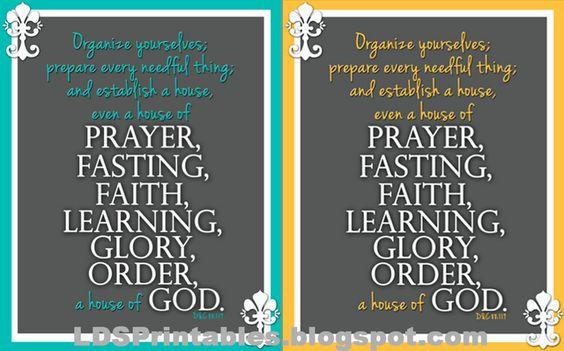 House, LDS And Prayer On Pinterest