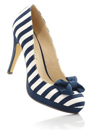 """Pumps: a MUST if you love the """"nautical"""" look"""