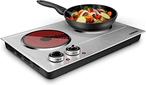 Best Seller Cusimax 1800w Ceramic Electric Hot Plate Cooking Dual