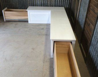Banquette Bench Seat With Backrest Unfinished Raw Kitchen Corner Bench Corner Bench Seating Storage Bench Seating