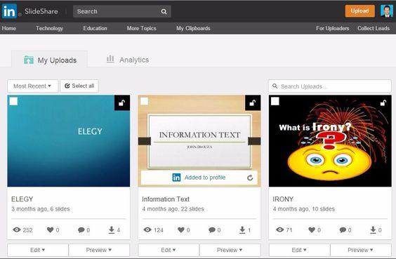 Edmodo Spotlight - SlideShare Presentations