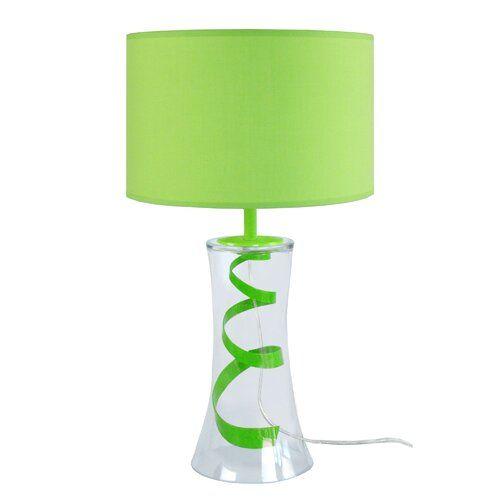 Hamlin 30cm Table Lamp Metro Lane Finish Green Table Lamp