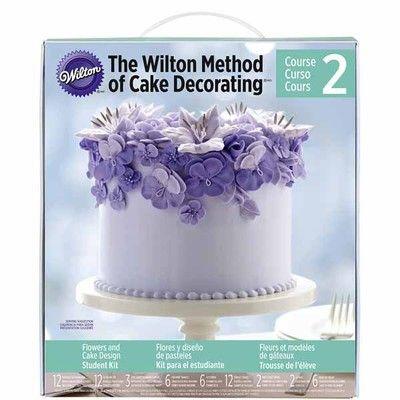 wilton flower and cake design student kit Wilton® Flowers & Cake Design Student Kit  Cake decorating kits