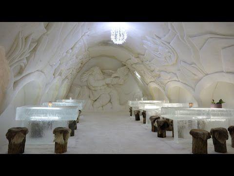 Kemi Schneeschloss in Lappland