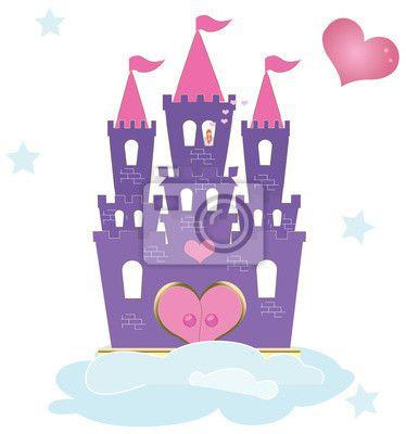 Fotobehang De prinses kasteel