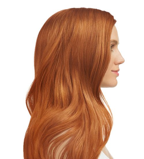 Medium Blonde Intense Copper 8 40 Light Blonde Hair At Home
