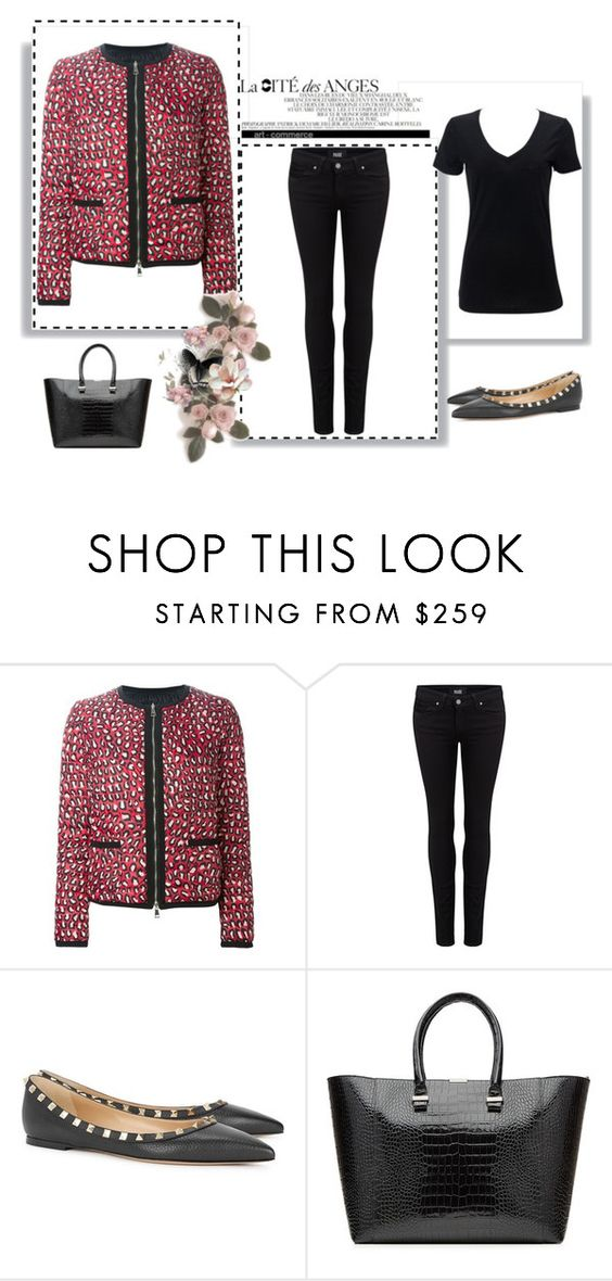 """""""Outfit # 3451"""" by miriam83 ❤ liked on Polyvore featuring Moncler, Paige Denim, Valentino and Victoria Beckham"""