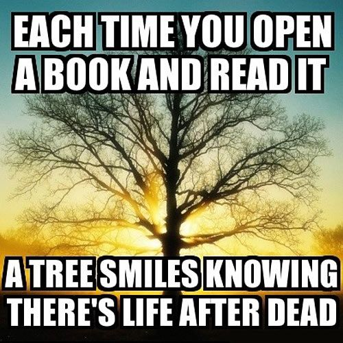Each time you open a book…unless it's twilight....then it becomes hell.:
